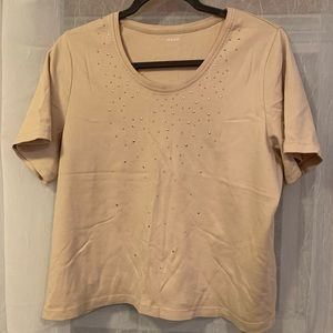 ✨ 2/$15✨ Alia Crop Top Sequence Detailing Size L